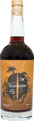 Medium taildragger coffee rum