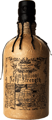 Medium rumbullion navy strength rum