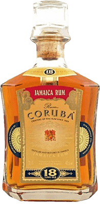 Medium coruba 18 year rum