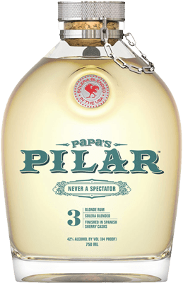 Medium papas pilar blonde rum