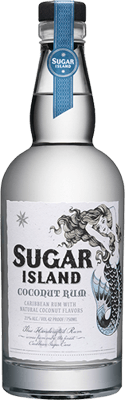 Medium sugar island coconut rum