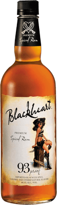 Medium blackheart premium spiced rum