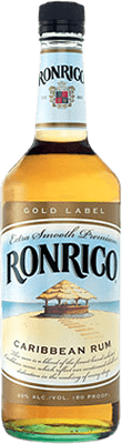 Medium ronrico gold label rum