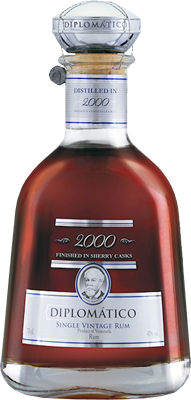Diplomatico 2000 single vintage rum