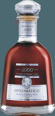 Medium diplomatico 2000 single vintage rum
