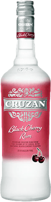 Medium cruzan black cherry rum