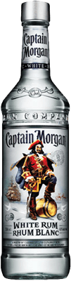 Medium captain morgan white rum