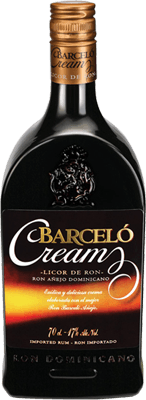 Medium barcelo cream rum