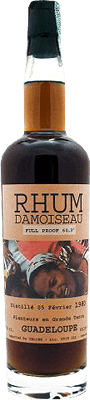 Medium damoiseau 1980 full proof rum