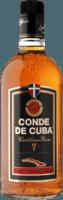 Small conde de cuba 7 year rum