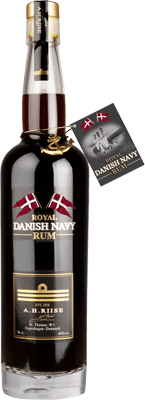 Medium a.h. riise royal danish navy rum