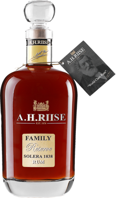 A.h. riise family reserve solera rum
