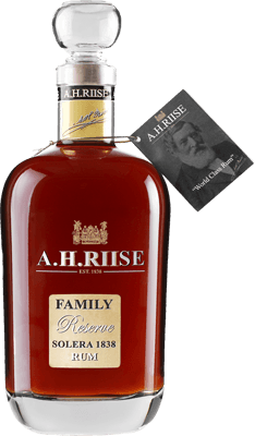 Medium a.h. riise family reserve solera rum