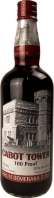 Cabot tower 100 proof rum orginal 400px