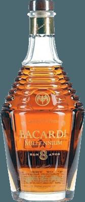 Medium bacardi millennium 8 year rum