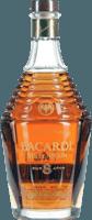 Small bacardi millennium 8 year rum