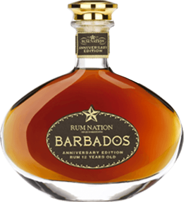 Rum nation barbados anniversary 12 year rum