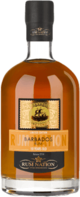 Rum Nation 2014 Barbados 10-Year rum