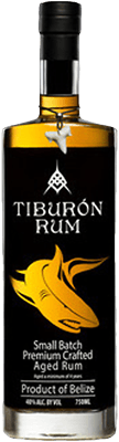 Medium tiburon small batch rum