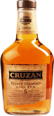 Medium cruzan estate diamond dark rum orginal 400px