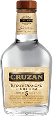 Medium cruzan estate diamond light rum orginal a 400px