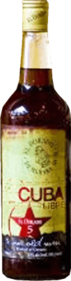 Medium cuba libre el dorado 5 year rum