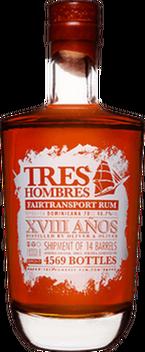 Tres hombres dominican republic 2014 rum orginal 400px