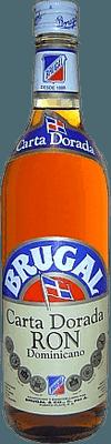 Medium brugal carta dorada rum