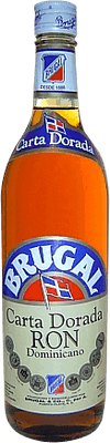 Medium brugal carta dorada rum