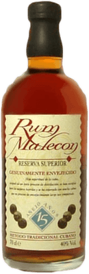 Medium malecon 15 year rum orginal 400px