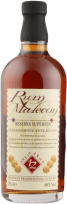 Medium malecon 12 year rum orginal 400px