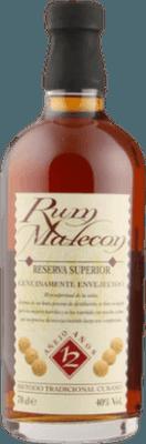 Medium malecon 12 year rum orginal 400px