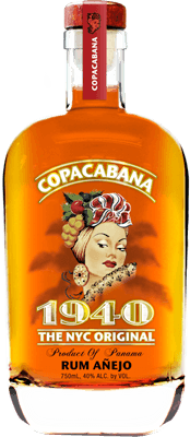 Medium copacabana anejo rum