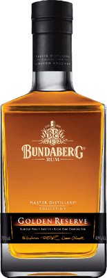 Medium bundaberg golden reserve rum