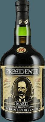 Medium presidente 15 year rum