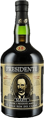 Medium presidente 15 year rum