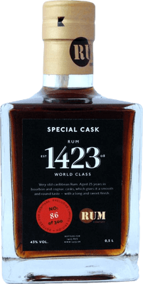 1423 special cask 25 year rum 400px b
