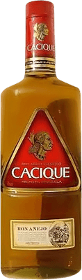 Medium cacique anejo superior rum