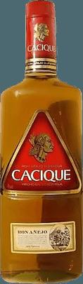 Medium cacique anejo superior rum