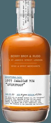 Medium berry bros.   rudd jamaican 1977 rum