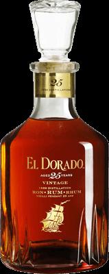 El dorado 25 year 1986 vintage rum
