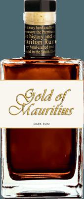 Medium gold of mauritius dark rum