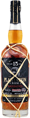 Medium plantation barbados 15 year rum