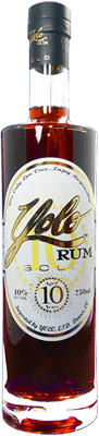 Medium yolo gold rum