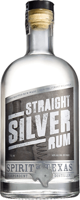 Medium spirit of texas silver rum 400px b