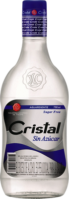 Aguardiente cristal sin az car rum