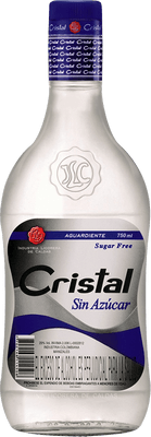 Medium aguardiente cristal sin az car rum