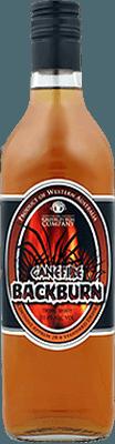 Medium canefire backburn over proof rum
