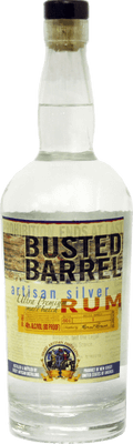 Medium busted barrel silver rum 400px b