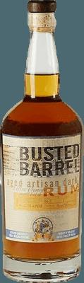 Medium busted barrel artisan dark rum 400px b